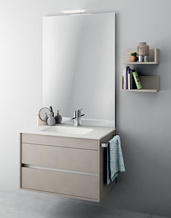 Duetto 50 Bathroom Vanity in Soft Mat Canapa Finish