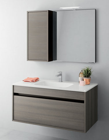 Duetto 50 Bathroom Vanity in Soft Pine