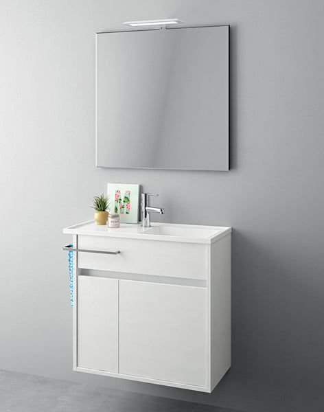 Duetto 34 Bathroom Vanity in Soft-Mat Latte