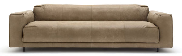 Freistil by Rolf Benz 136 sofa in Nubuck Leather