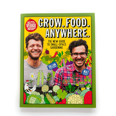 Grow Food Anywhere is Little Veggie Patches 5th book about Edible Gardening and What it Means to Grow Food in Small Places