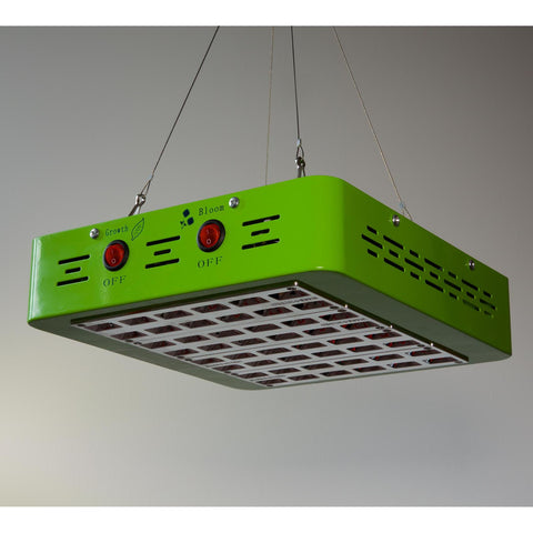 Glowpear Grow Light with Cool Operating Temperatures and Extra Large Coverage Area which allows you to select Light Spectrums for certain stages of Plant Growth
