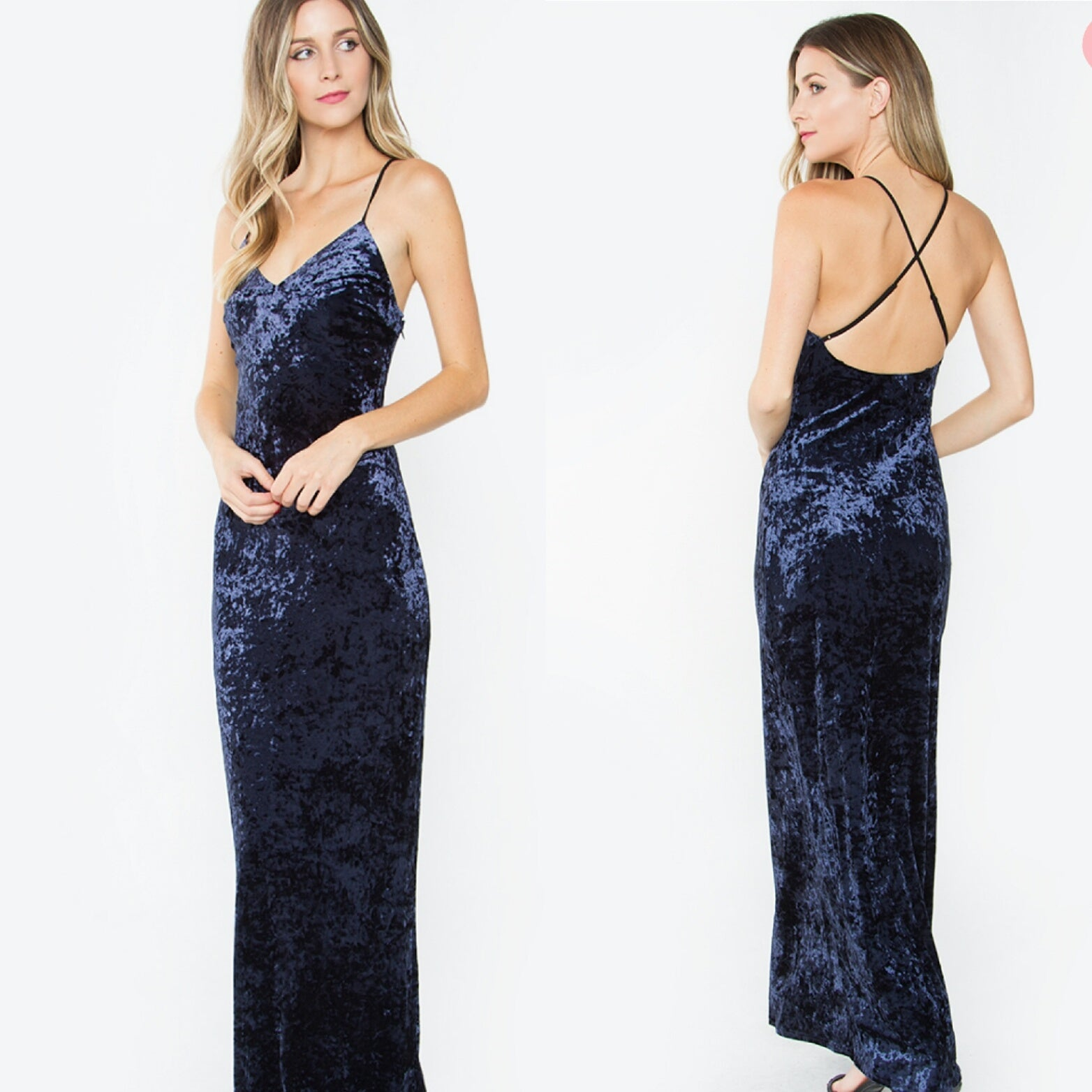 Valor Indigo Dress