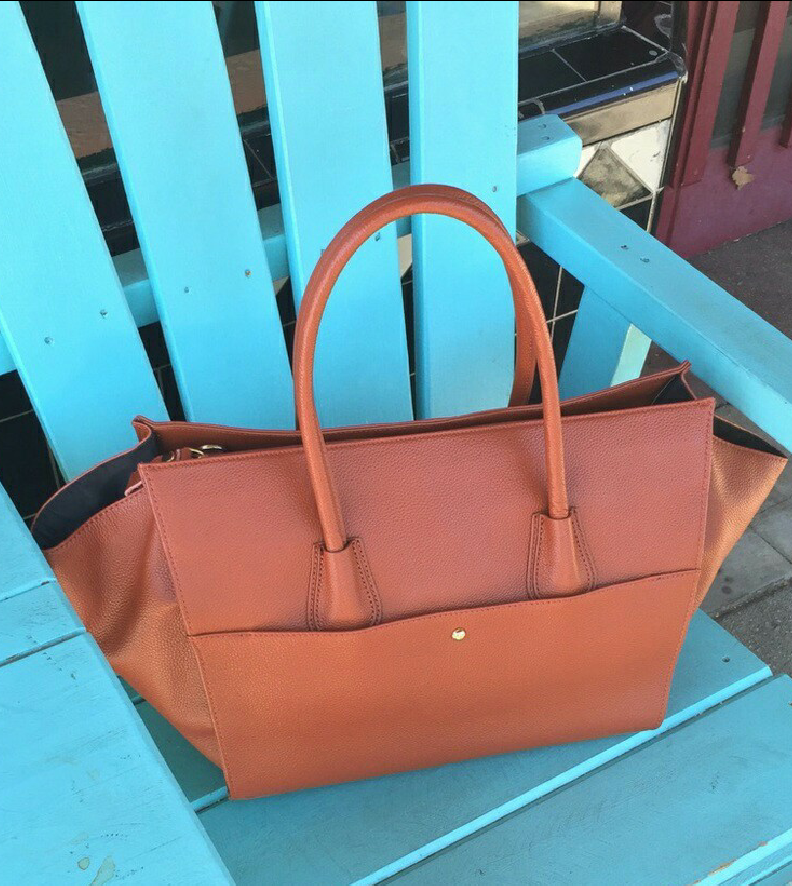 Lucy Leather Tote