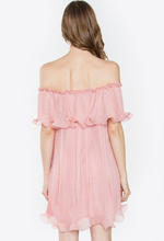 Blush Ruffles Dress