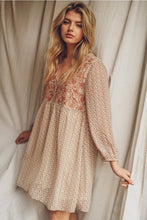 Embroidered Blooms Dress