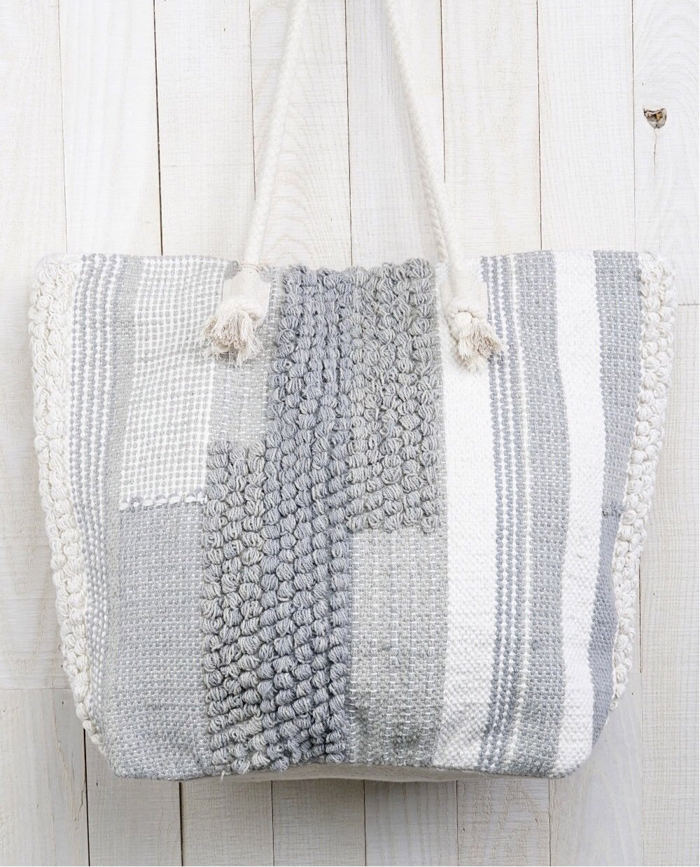 Loomed Tote