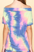 Summer tie dye top