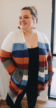 Thin Striped Cardigan