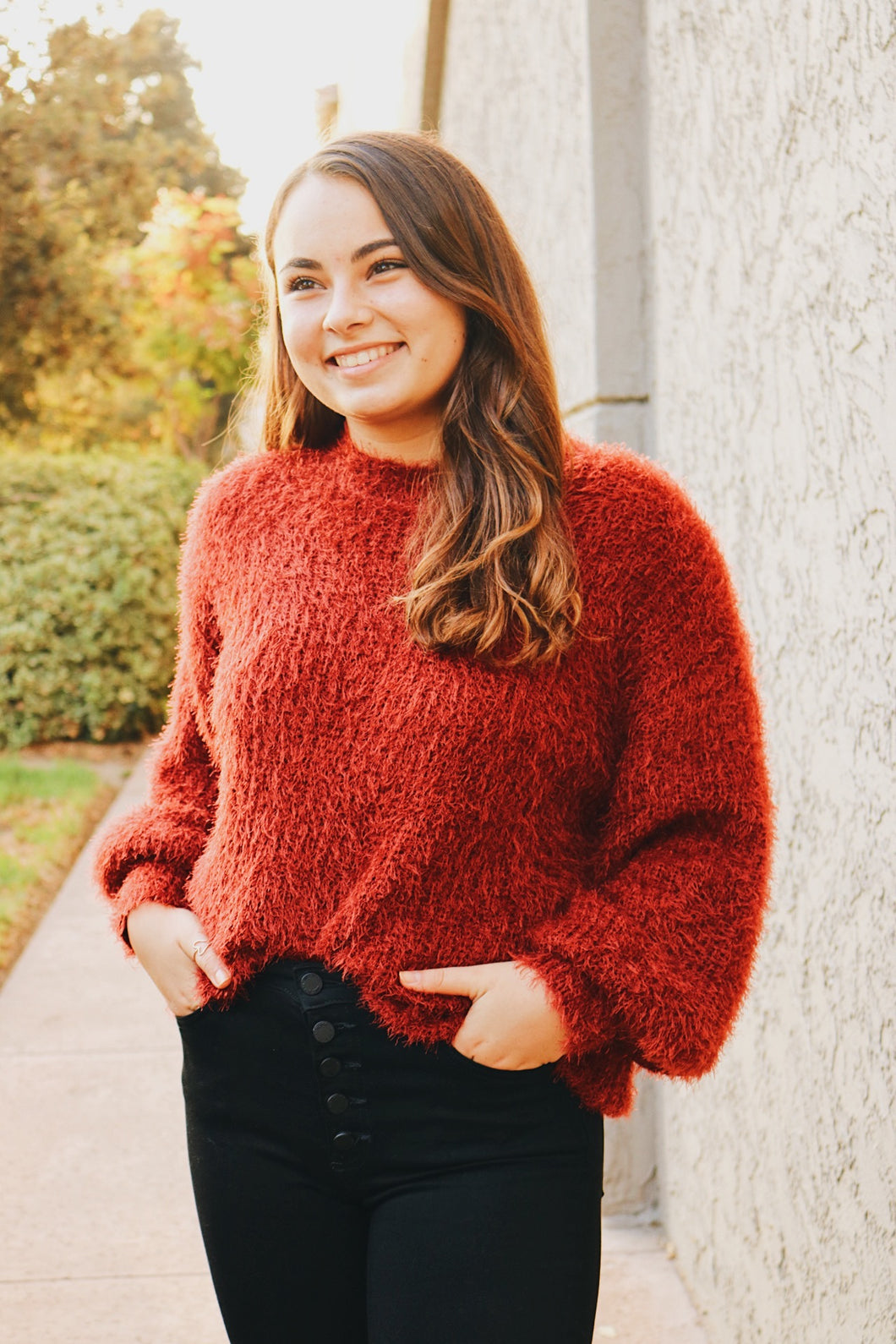 Cranberry Sweater