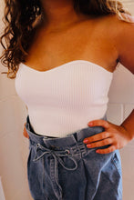 Sweetheart bandeau top