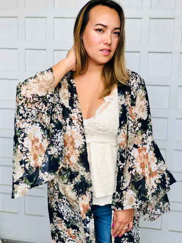 Floral trails duster