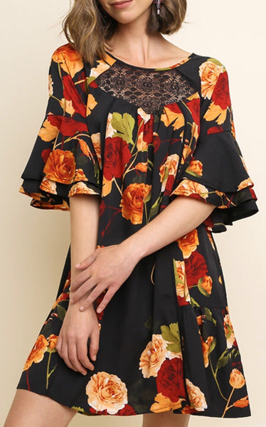 Autumn Rose Dress