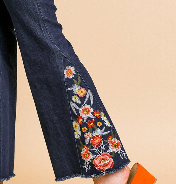 Embroidered Bell Bottoms