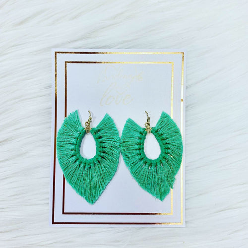 Fringe Handmade Earrings