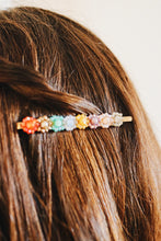 Shimmery Floral Hair Pin