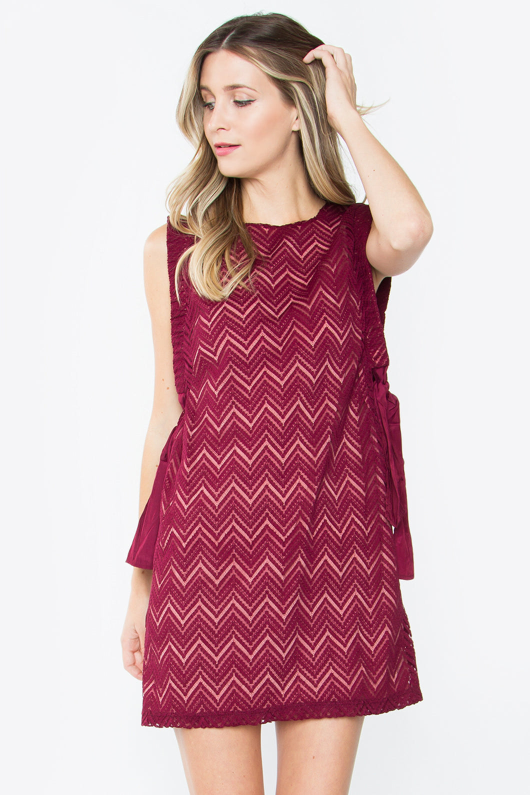 Chevron Tie Dress