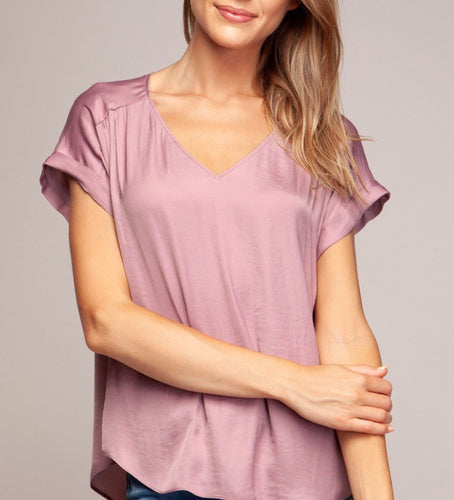 Majestic Mauve Top