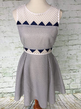Ribbon Mesh Dress