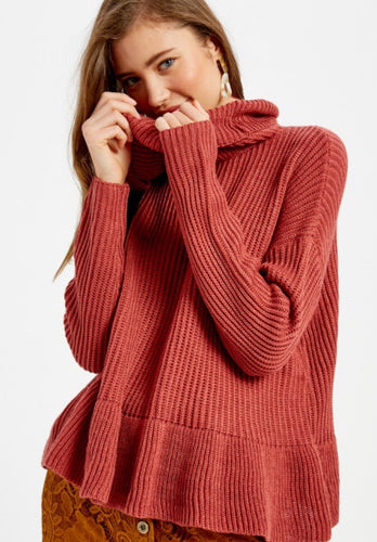 Swing Ruffle Sweater