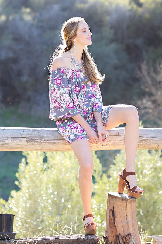 Field of Floral Romper