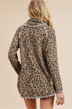 Faded Leopard Top