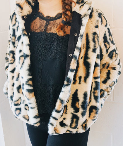 Cozy Leopard Coat