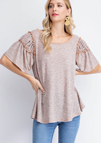 Double Ruffles Top