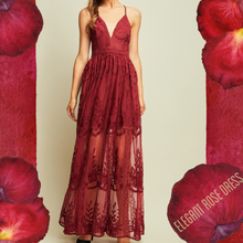 Elegant Rose Dress