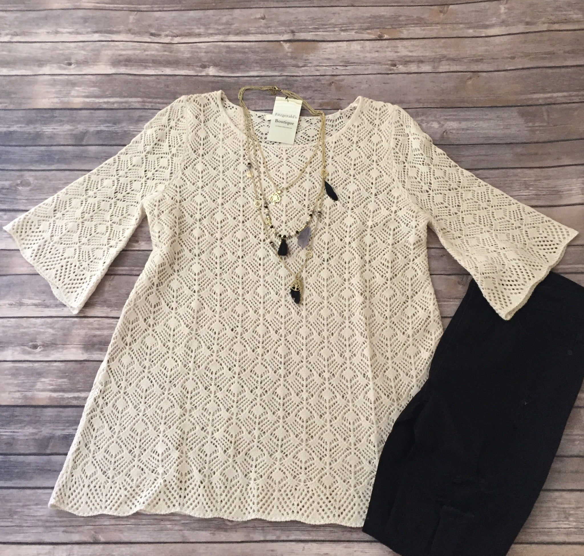 Cream Knit Sweaters