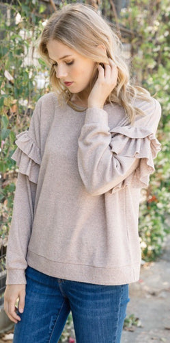 Perfect Ruffle Sweater