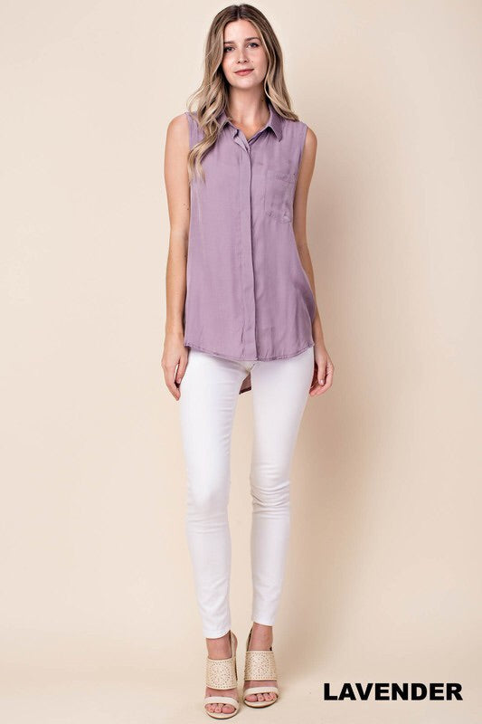 Lavender Chic Top