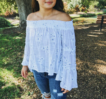 Delicate Off The Shoulder Top