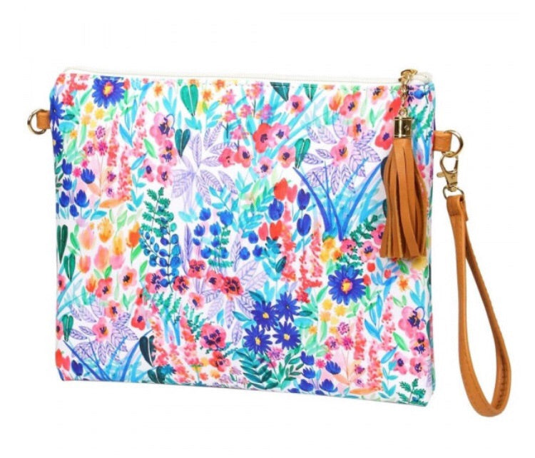 Floral Fields Cross Body/Clutch