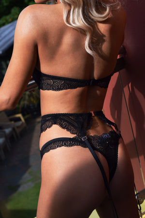 Caitlyn Suspender Belt - Sophie Rutherford Intimates