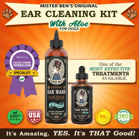 Ear Care Kit  for Dogs