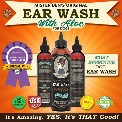 Ear Wash  for Dogs