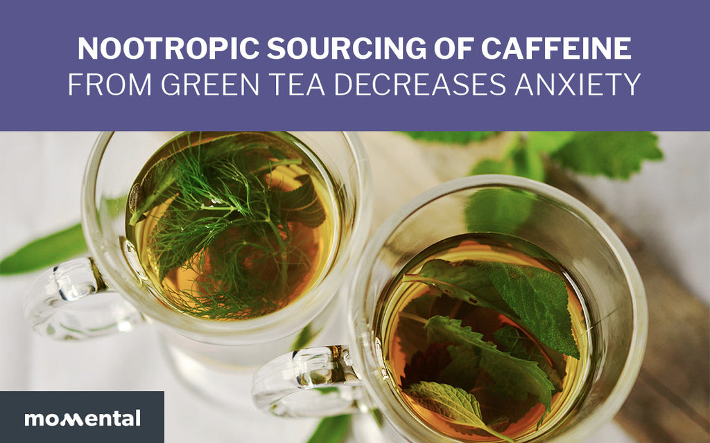 Nootropic Sourcing of Caffeine from Green Tea Decreases Anxiety | Momental
