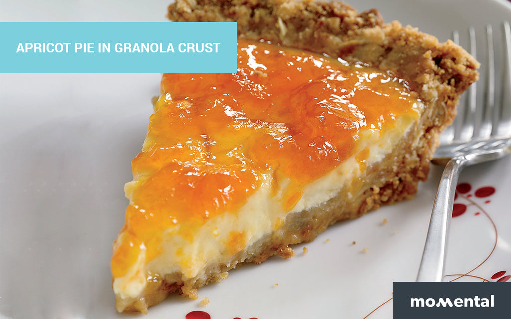 Apricot Pie with Granola Crust, a Gluten-Free Fall Dessert | Momental Nootropics