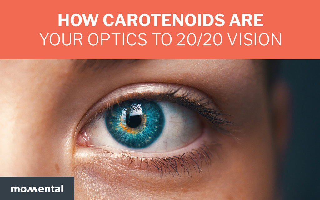 How Carotenoids Are Your Optics to 20/20 Vision | Momental Nootropics