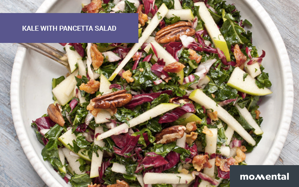 Kale with Pancetta Salad | Momental Nootropics