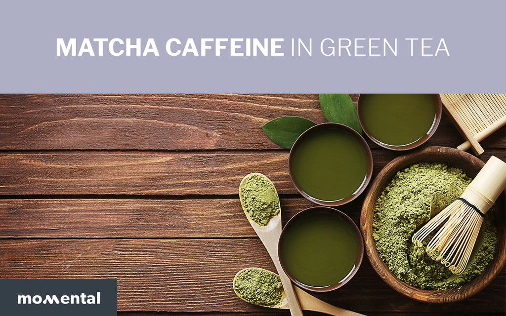Matcha Caffeine in Green Tea | Momental