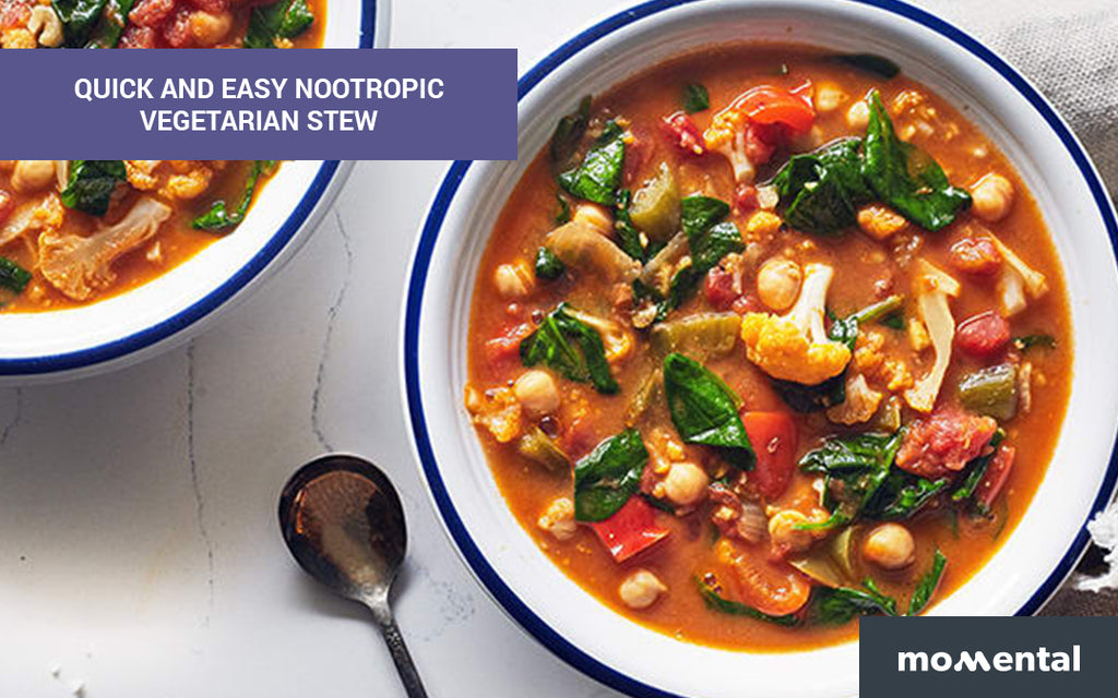 Quick and Easy Nootropic Vegetarian Stew | Momental Nootropics
