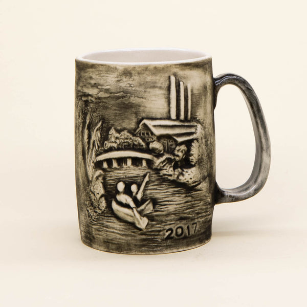 Old Mill Ceramic Mug