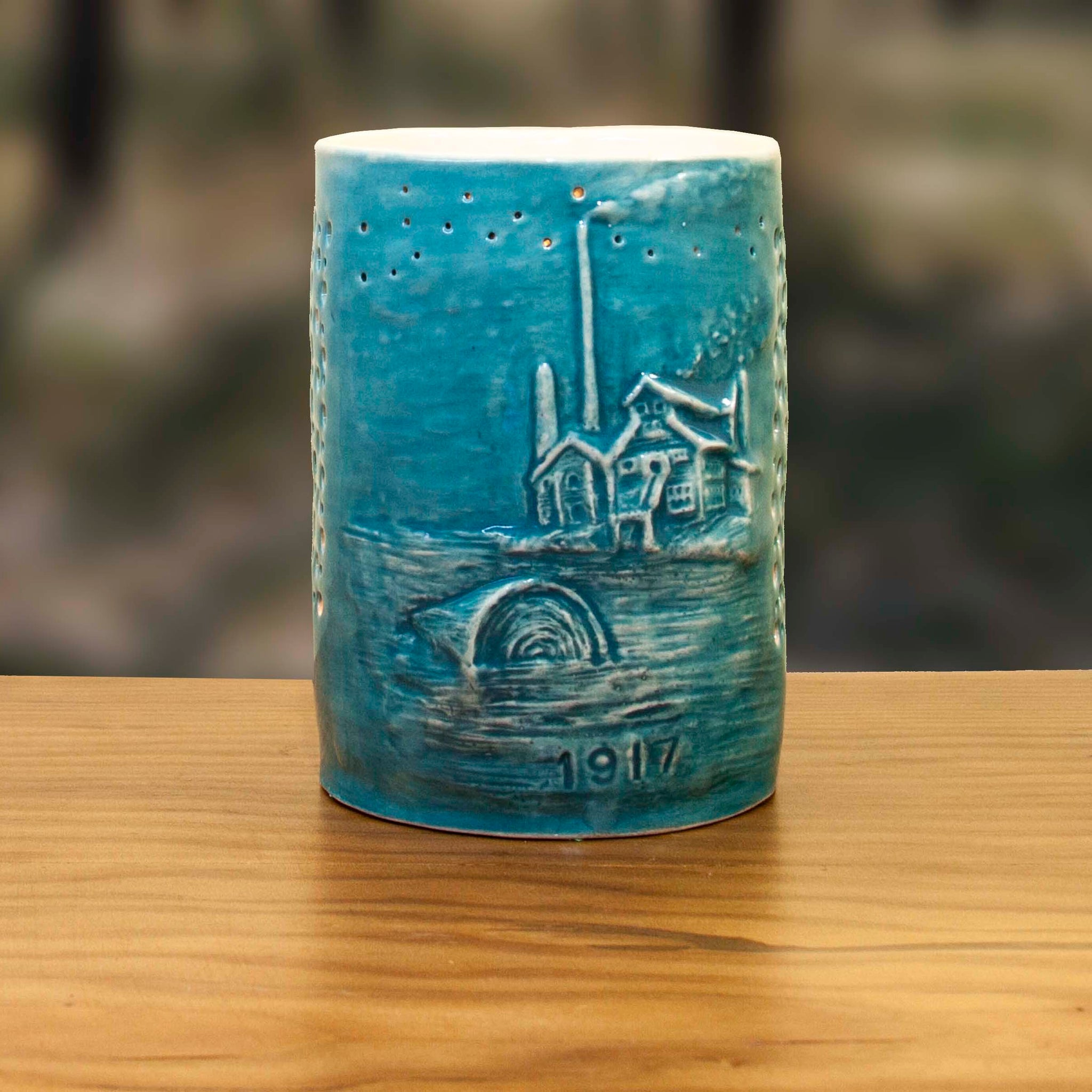 Old Mill Candle Holder