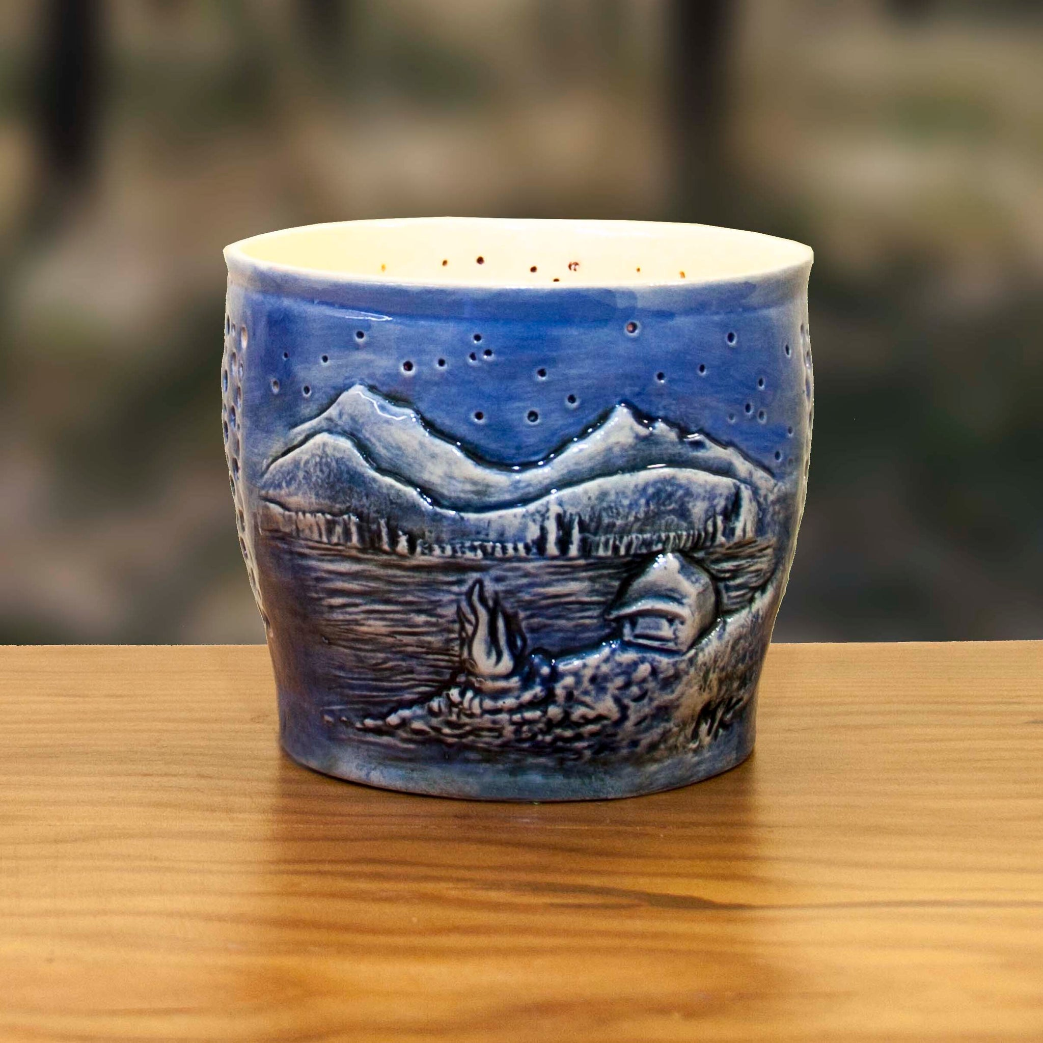 Sparks Lake Candle Holder