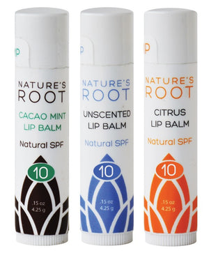 Mixed Case Hemp Lip Balms- (6 of each-Case of 18) Wholesale - Nature's Root Spa