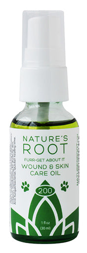 Fur-Get About It Wound & Skin Care Oil - Nature's Root Spa