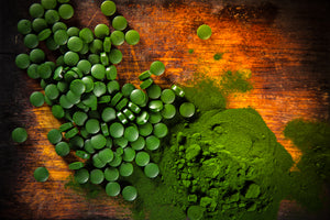Superfood Chlorella Tablets-Closeout