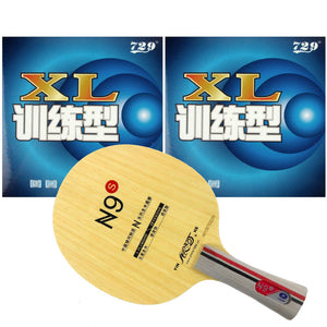 Pro  Table Tennis PingPong Combo Racket Galaxy YINHE N9s with 2Pieces 729 XL 2015